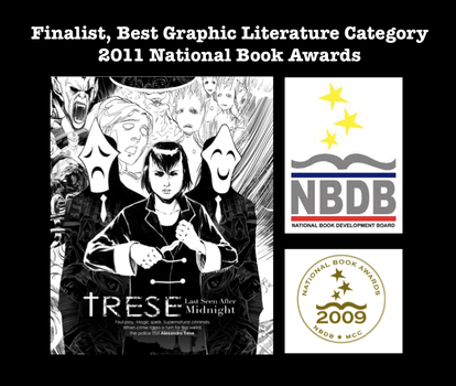 Finalist in the National Book Awards by Budjette