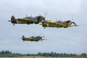 Spitfire Scramble by Daniel-Wales-Images