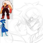 Jasper and Lapis  (WIP) by chiisuchii