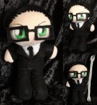Commission Mini Plushie William T. Spears by ThePlushieLady