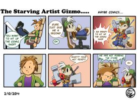 The starving Artist Gizmo 22 by culdesackidz