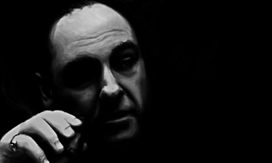 Tony Soprano Portrait by mikevectores