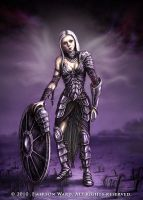 Plate Armour Girl by Wardem