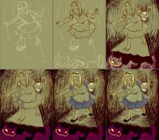 Into the Rabbit Hole Progress by gryffindor-girl