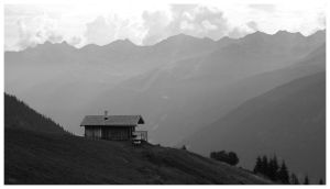 The Alps Xi by Regadenzia