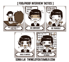Fool proof Interview Tactics by Pochi-mochi