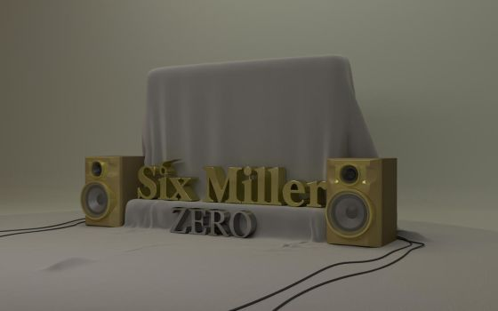 Six Miller - ZERO Artwork by bentjibe