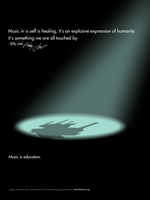 Music is education poster 3 by H1ppym4n