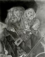 Captain Barbossa by riverstyx27