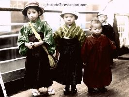 Japanese Immigrant Children by ajhistoric2