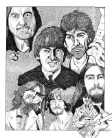 George Harrison Phase 1 by rori77