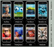iPhone - Pixar Inside by iFab