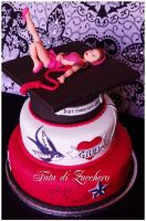 Rockabilly Graduation cake 02 by Dyda81