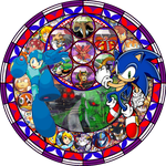 Station of Awakening, Megaman and Sonic by 4xEyes1987