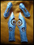 Nightelf armor WIP by YurikoCosplay