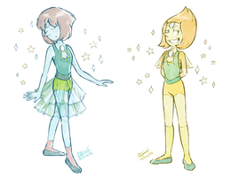 Pearls fusions - Steven Universe by Koizumi-Marichan
