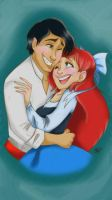 Ariel and Eric Sketchbook pro Mobile by Pradaninja