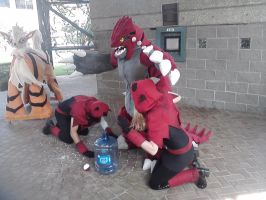 A-Kon 23 - All Hail Groudon! by Shadarkness