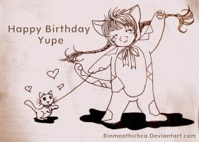 Happy birthday Yupe by Rinmeothichca