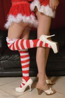 Christmas legs by AspexPhotography