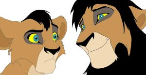 Asante the Lion King OC by TheMagneticWombat