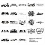 arena logotype pack by ihsanpunkrock