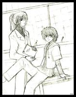Me and my manager by Lizeth by gravitation-fanclub