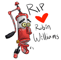 RIP Robin Williams :c by rukiara
