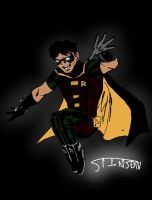 Young Justice Robin by stinson627