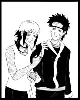 .:Kiba and Minohka:. by IshimaruK21