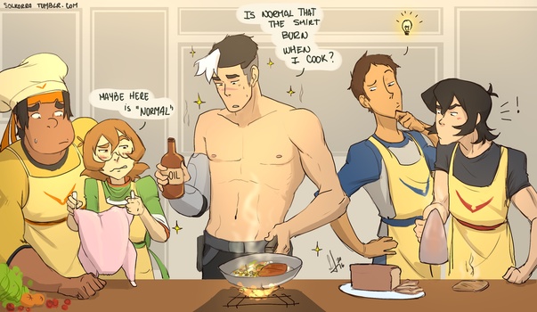 Cooking Time! by SolKorra