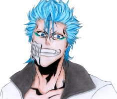 Grimmjow - Bleach by carolinachaves