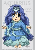 Tiny Cutie Zodiac Aquarius by LCibos