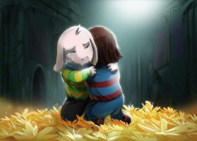 Goodbye Asriel by Purpleground02