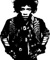 Jimi by Michael-Burleigh