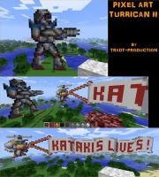 PIXEL ART - TURRICAN II by TRADT-PRODUCTION