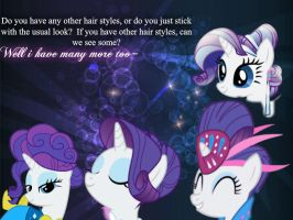 Ask Rarity~Q12 by UnicornRarity