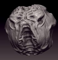 First steps on ZBrush by Kromlec