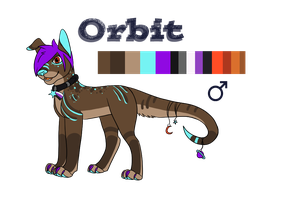 Orbit the Space Dog by SapphireSquire