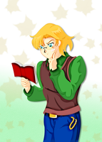 591-SL-Studying. by Silverlegends