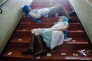 Forever they wandered in the Wonderland - VOCALOID by miyuki-chan8D
