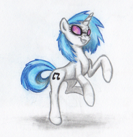 Vinyl Scratch by BenRusk
