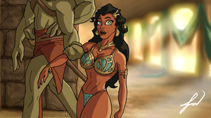 John Carter of Mars: The Animated Series (Dejah) by RatGnaw