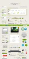 Futurico UI a User Interface Elements Pack by the-webdesign