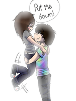 Put me down by Scenie-Queenie