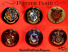 Potter flair :D by ElectrikPinkPirate
