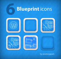 Blueprint icons by vitorhugojapa