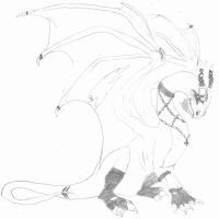 Gothic Scorch_sketch by Grivik