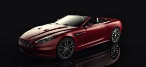 Aston Martin DBS Volante by TheImNobody
