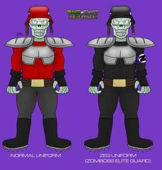 Plants vs. Zombies: Armagarden - Heavy Zombie by Rose-Supreme
